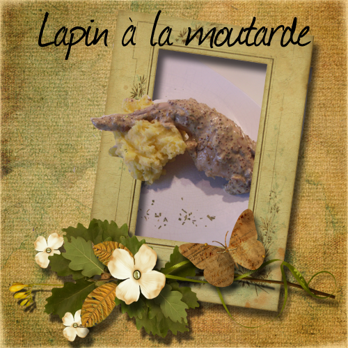 scrap lapin moutarde