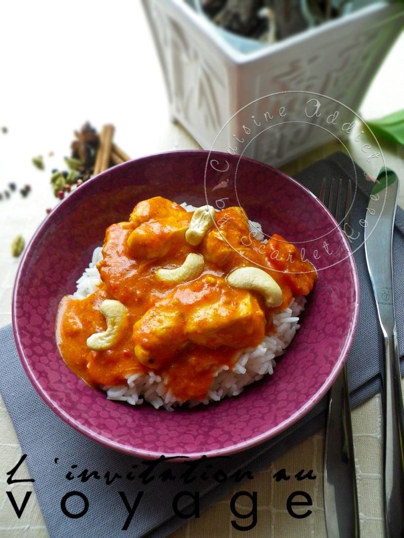 Curry de poulet sri lankais aux noix de cajou cuisine addict for Cuisine addict