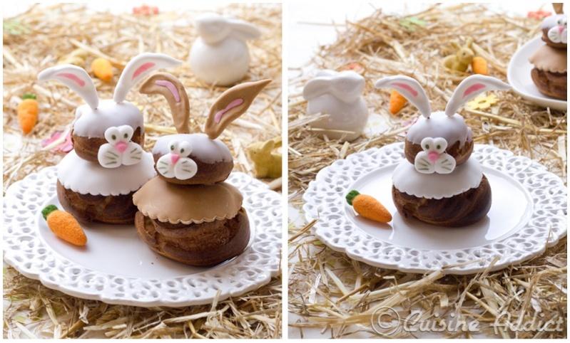 Des petits lapins très