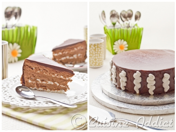 gâteau au chocolat meringué {meringue d'automne de pierre hermé