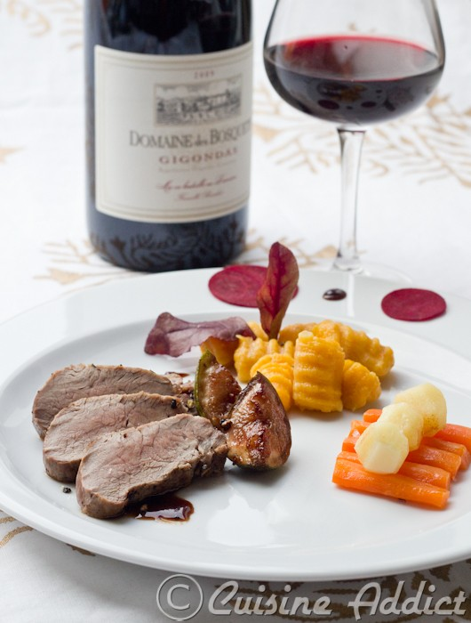 Gigondas du blog l 39 assiette filet de sanglier sauce - Reduction cuisine addict ...