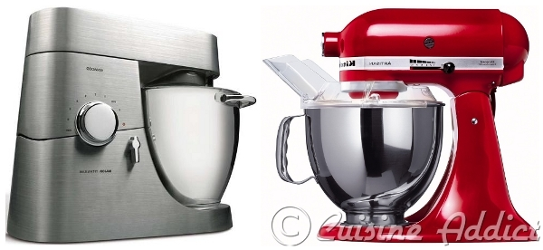 k vs ka kenwood contre kitchen aid lequel choisir cuisine addict. Black Bedroom Furniture Sets. Home Design Ideas