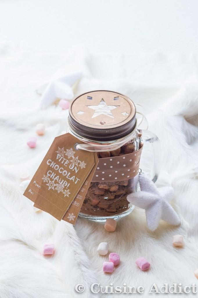 mix pour chocolat chaud cadeau gourmand cuisine addict. Black Bedroom Furniture Sets. Home Design Ideas