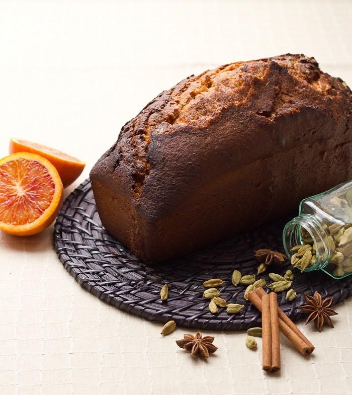 Pain d'épices à l'Orange - Moelleux et parfumé!